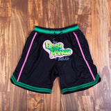 FRESH PRINCE BLACK BASKETBALL SHORTS