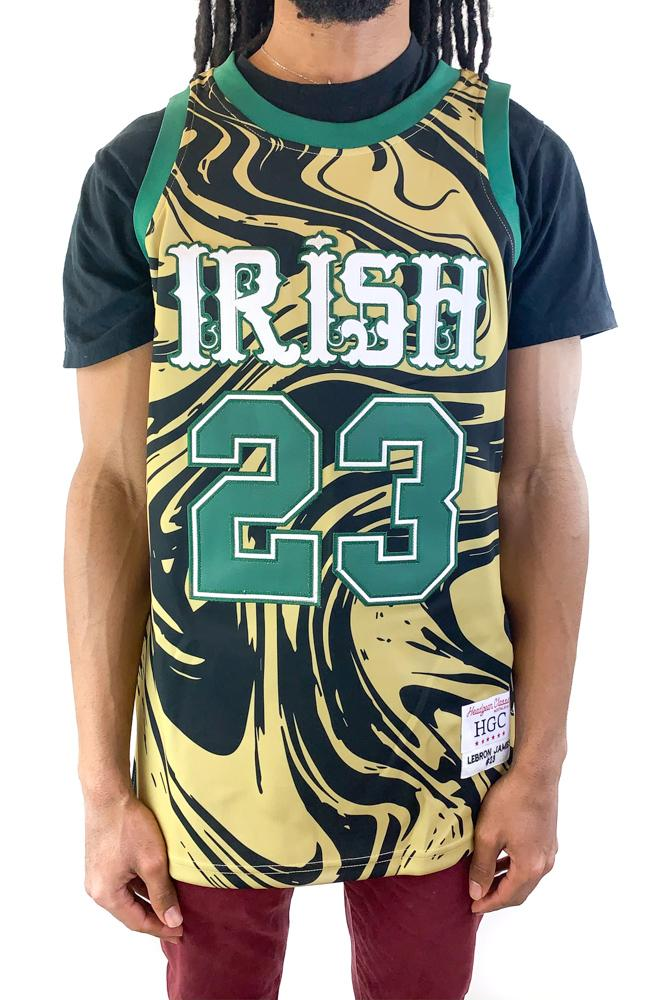 Lebron James Alternate High School Basketball Jersey - shopallstarsports.com