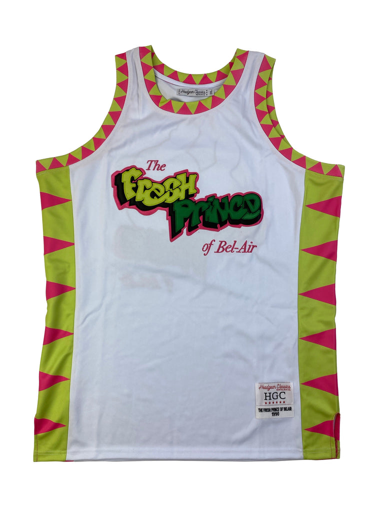 The Fresh Prince of Bel-Air Jazzy Jeff & Will Smith Basketball Jersey