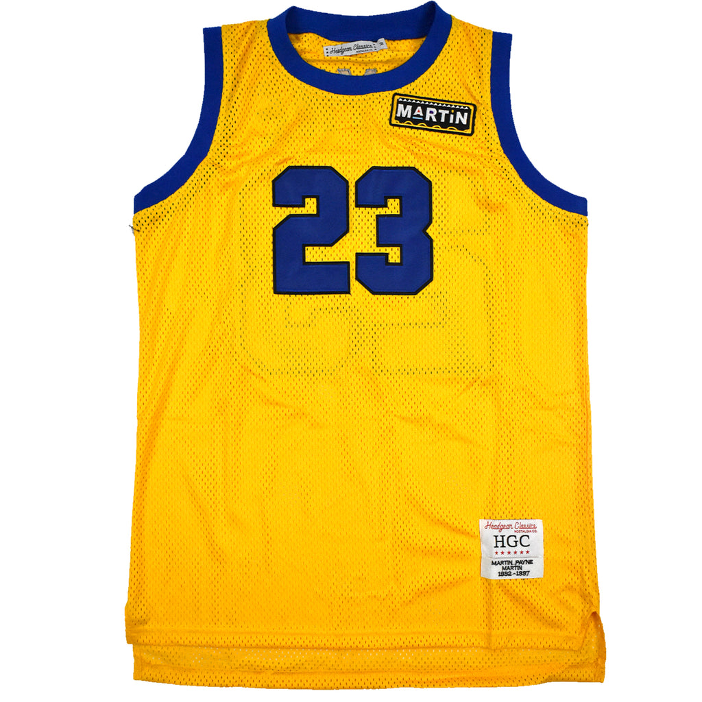 Martin Payne Yellow Basketball Jersey