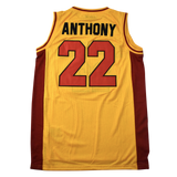 CARMELO ANTHONY HIGH SCHOOL BASKETBALL JERSEY