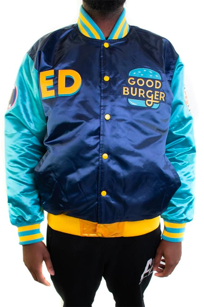 Good Burger Ed Satin Jacket - shopallstarsports.com