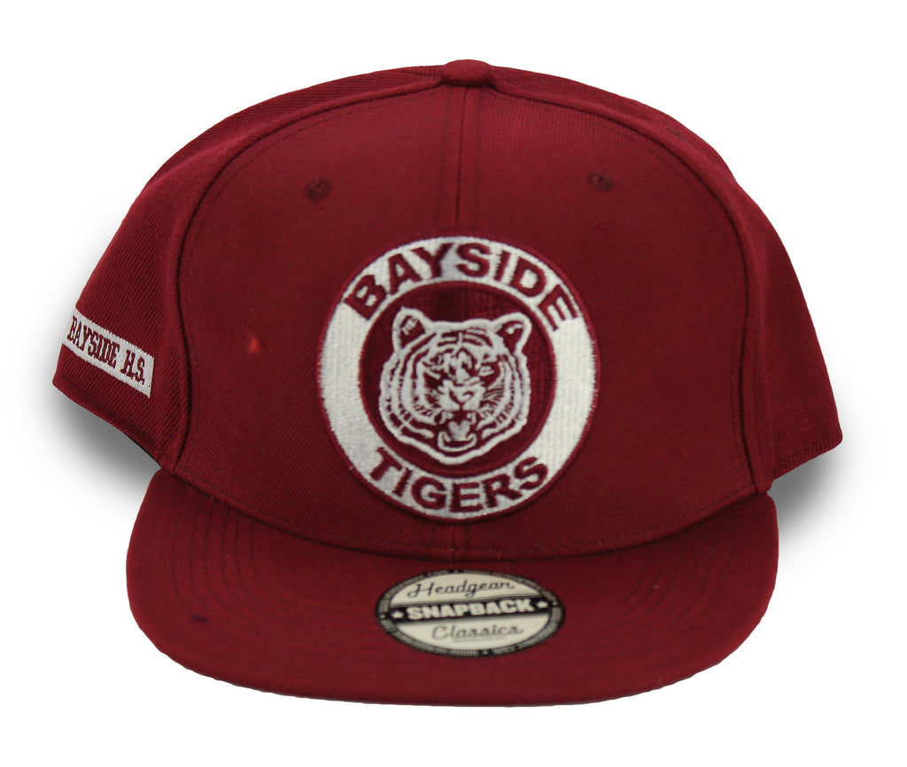 Saved By The Bell Bayside Tigers Snapback Hat - shopallstarsports.com