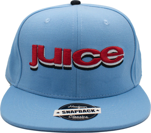 Juice Blue Snapback Hat