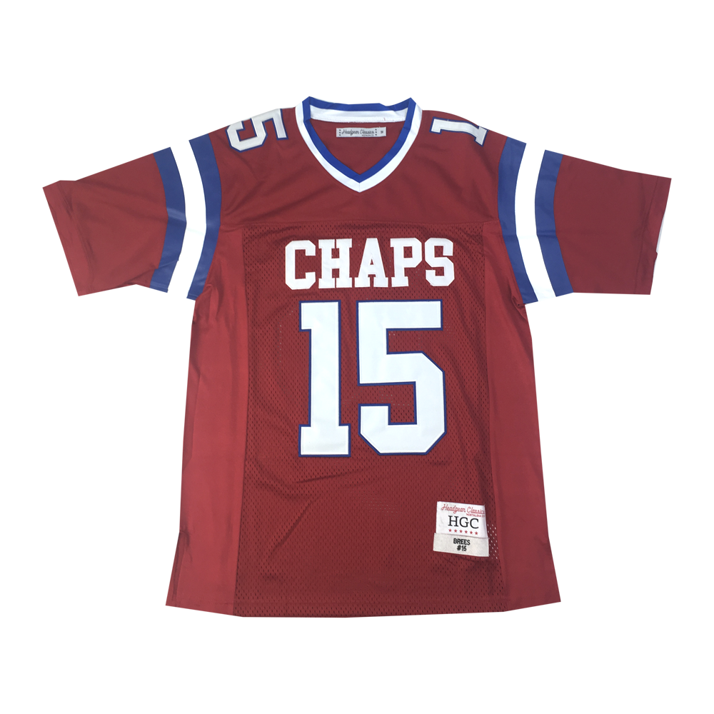 Drew Brees Red High School Basketball Jersey - shopallstarsports.com