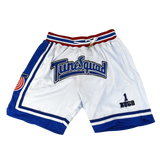 Tunesquad Bugs Bunny White Basketball Shorts