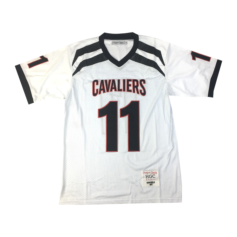 Baker Mayfield White High School Football Jersey - shopallstarsports.com