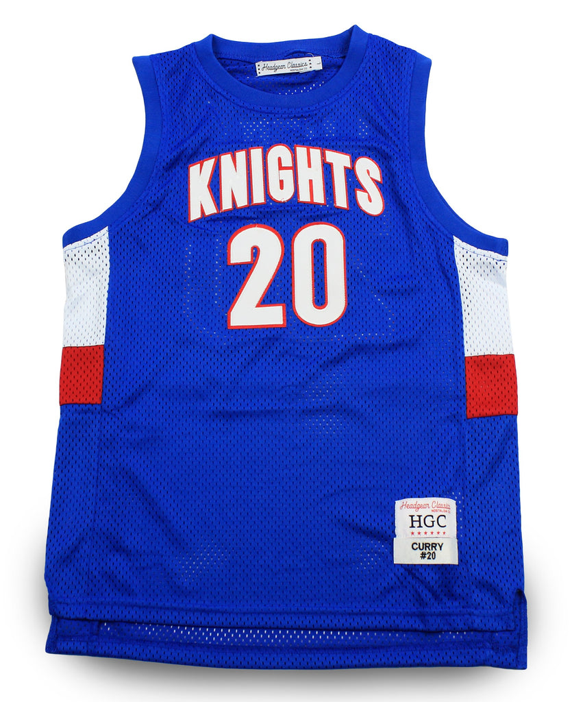 Stephen Curry Charlotte Christian High School Youth Basketball Jersey - shopallstarsports.com