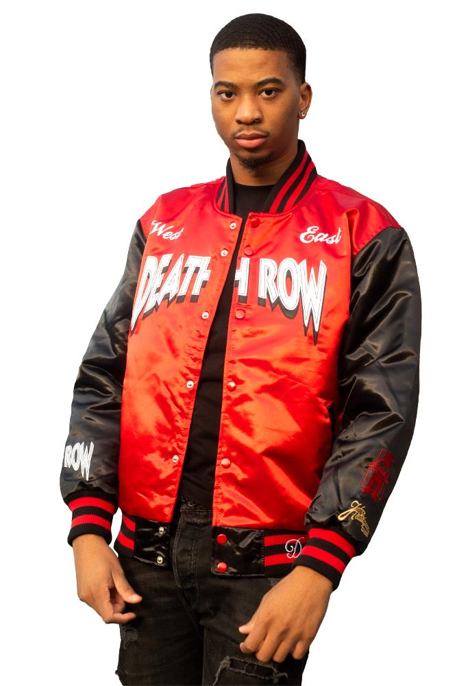 DEATH ROW RECORDS RED SATIN JACKET