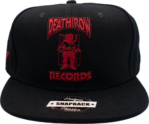 Death Row Black  Snapback Hat