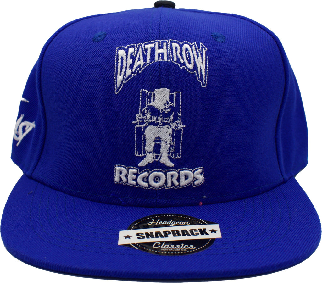 Death Row Blue Snapback Hat