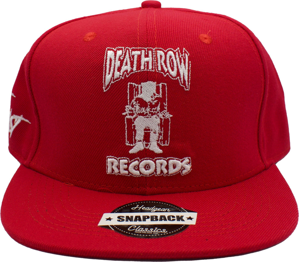 Death Row Red Snapback Hat