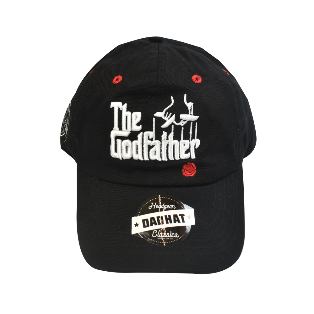 The Godfather Black Dad Hat - shopallstarsports.com