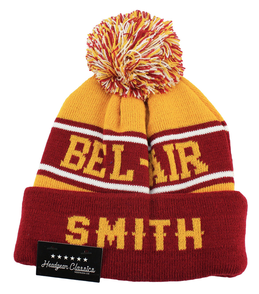 Bel-Air Academy Will Smith Alternate Beanie Hat - shopallstarsports.com