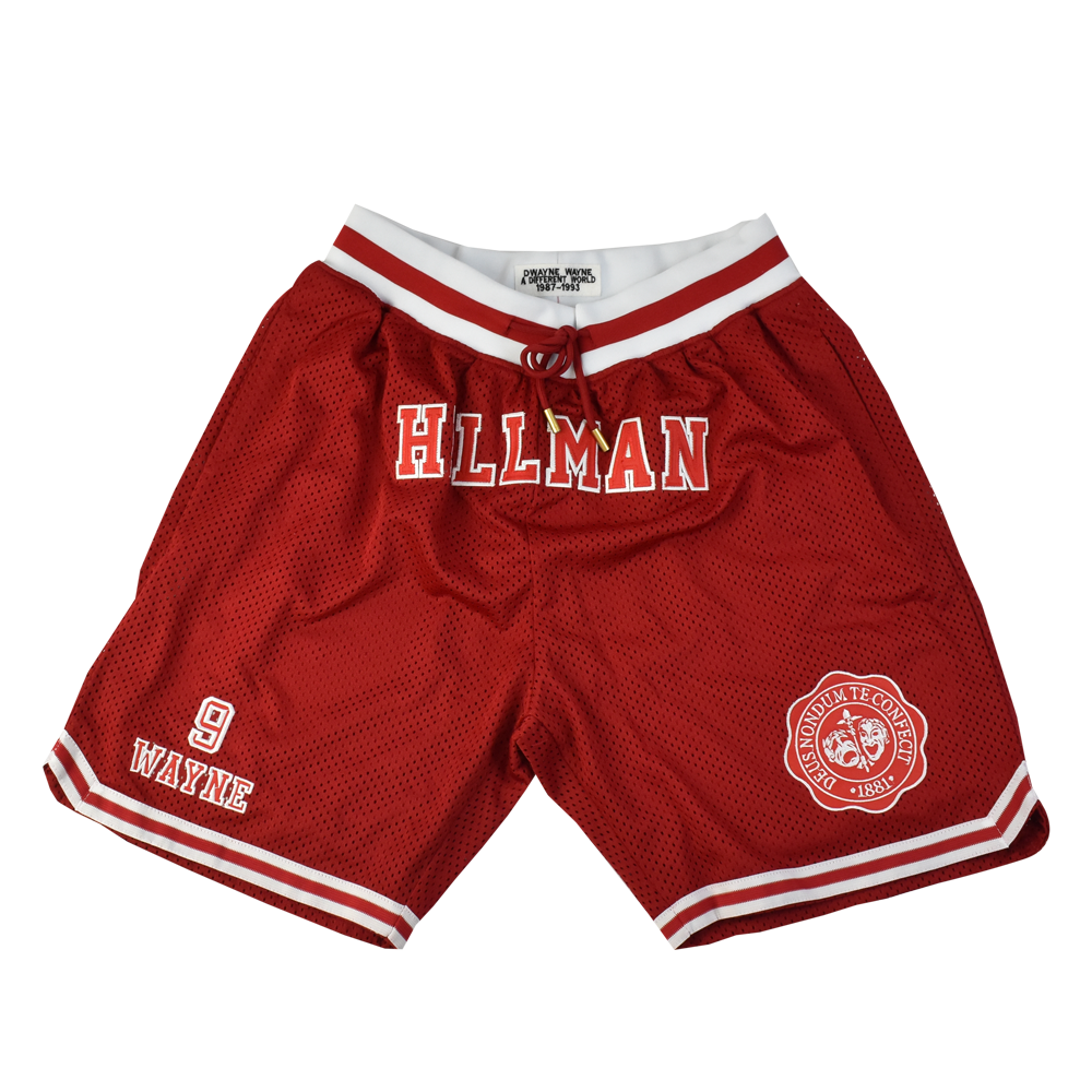 Hillman College Dwayne Wayne Basketball Shorts
