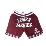 Kobe Bryant Lower Merion Front Logo Basketball Shorts