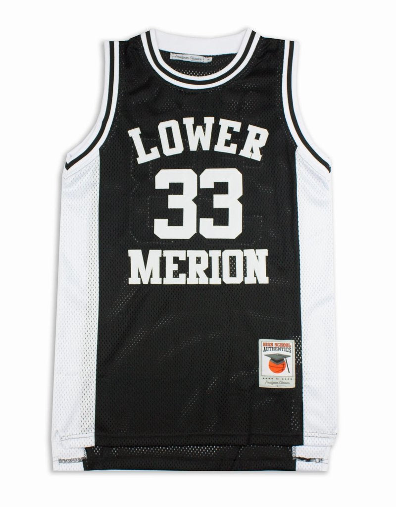 Kobe Bryant Lower Merion Black High School Basketball Jersey - shopallstarsports.com