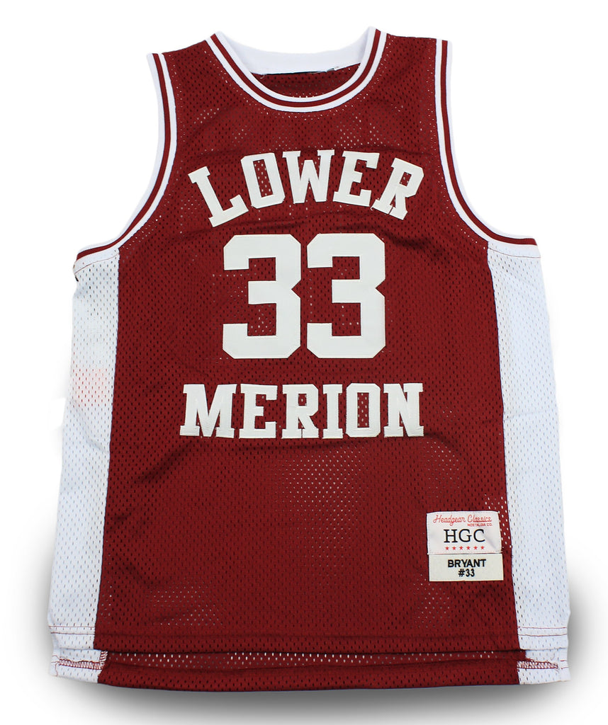 Kobe Bryant Lower Merion High School Youth Basketball Jersey - shopallstarsports.com