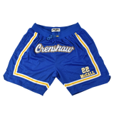 Quincy McCall Blue Basketball Shorts
