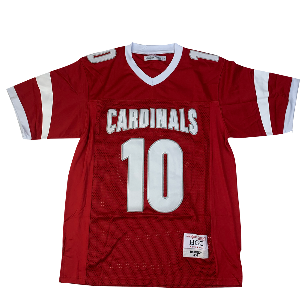 Mitch Trubisky Cardinals High School Football Jersey - shopallstarsports.com