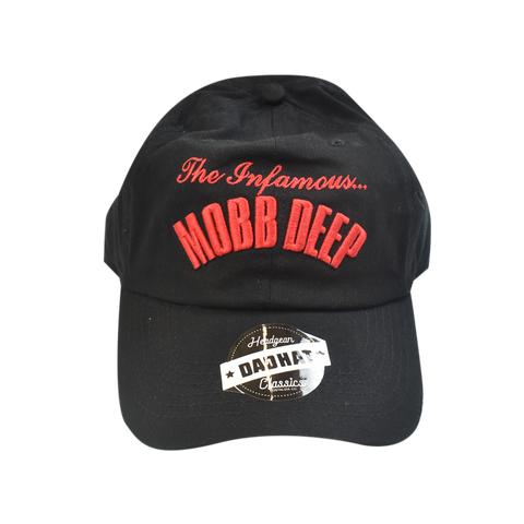 Mobb Deep Black Dad Hat - shopallstarsports.com