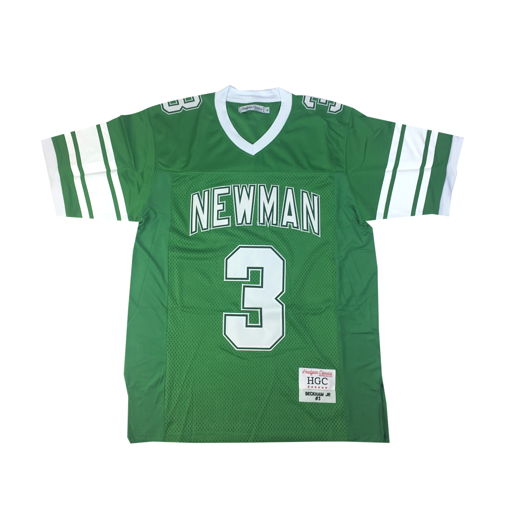 Odell Beckham Jr. Green High School Basketball Jersey - shopallstarsports.com