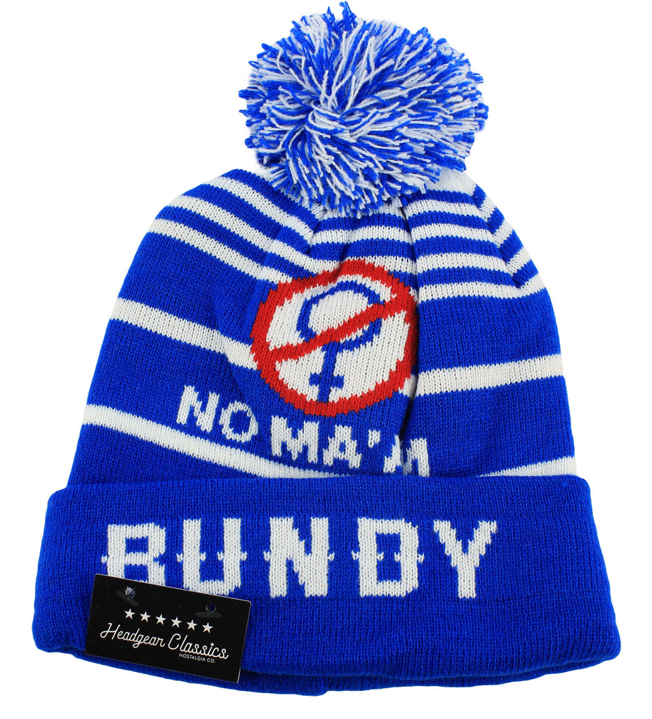 Al Bundy No Ma'Am Beanie Hat - shopallstarsports.com