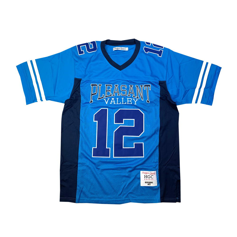 Aaron Rodgers Pleasant Valley High School Football Jersey - shopallstarsports.com