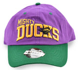 Mighty Ducks Greg Goldberg Purple Dad Hat