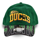 Retro Mighty Ducks Green Dad Hat