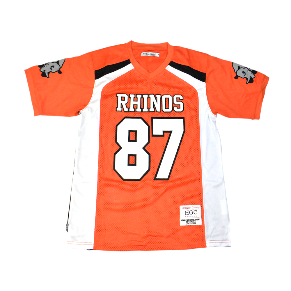 Key and Peele McCringleberry Rhinos Jersey - shopallstarsports.com