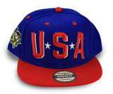 Usa Mighty Ducks Snapback Hat