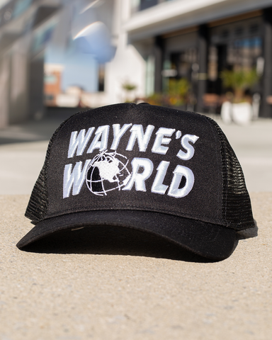 WAYNE'S WORLD TRUCKER HAT