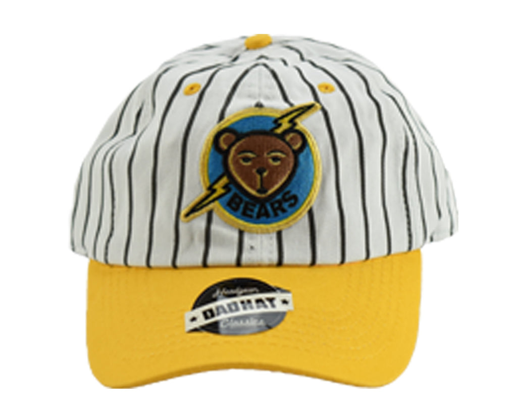 Bad News Bears Tanner Boyle White Pinstripe Dad Hat - shopallstarsports.com