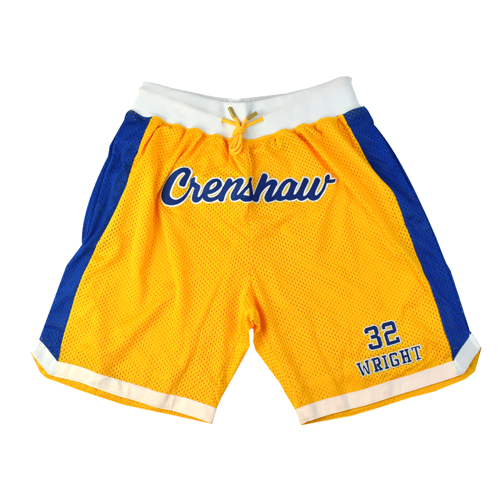 Monica Wright Alternate Yellow Basketball Shorts