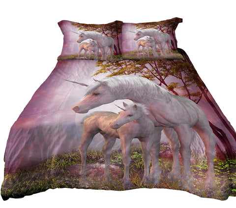 unicorn bedding twin