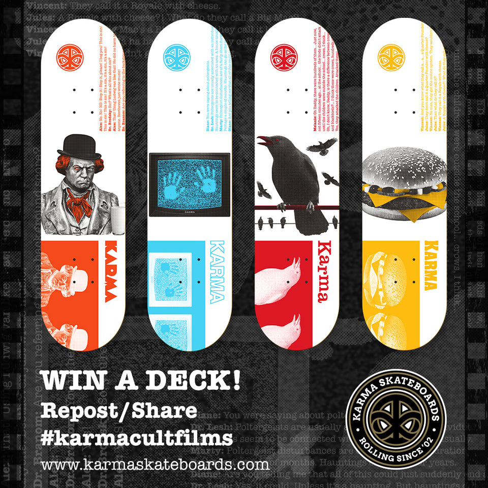 Karma Cult Films - Win a deck