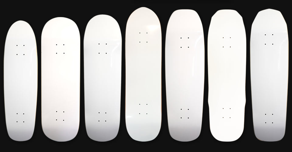 Karma Skateboards shapes