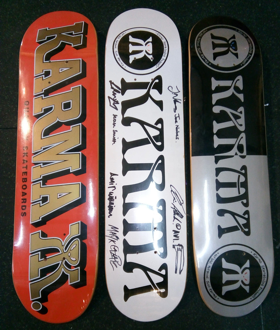 Karma Skateboards original run