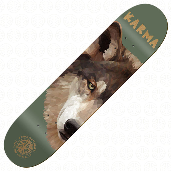 SKATE FOR THE PLANET - Wolf