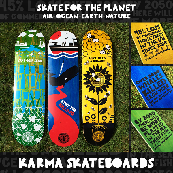 SKATE FOR THE PLANET - Sea deck