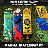 SKATE FOR THE PLANET - Whale deck