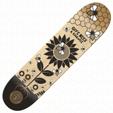 SKATE FOR THE PLANET - Bee deck - Natural