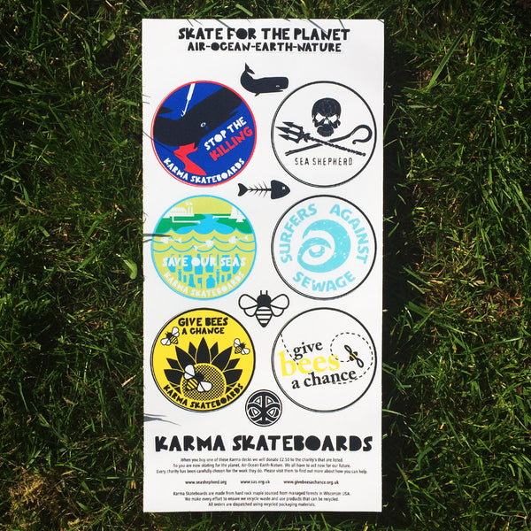 SKATE FOR THE PLANET - Sea deck - Natural