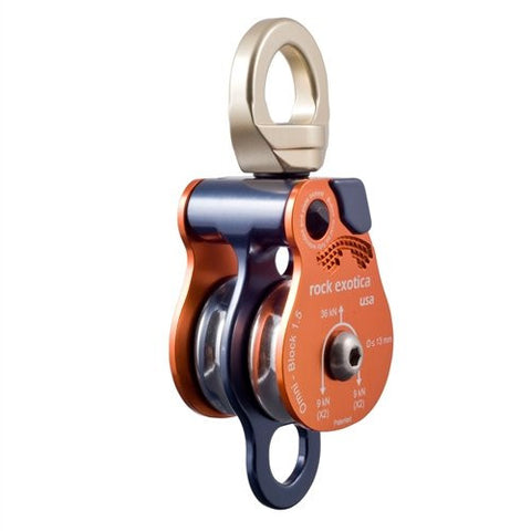 "Rock Exotica Omni-Block 1.5"" Pulley - Double"