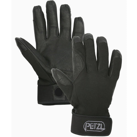 Petzl Cordex Light-Weight Belay & Rappel Gloves (Black / Small)