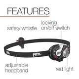 PETZL - e+LITE, 50 Lumens, Emergency Headlamp with Carry Case