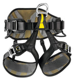 Petzl AVAO Sit Fast Harness Black/Yellow Size 2
