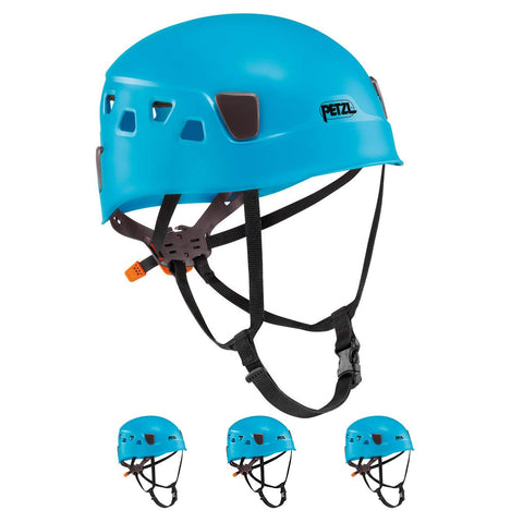 PETZL  Panga Climbing Helmet for Group and Club Use 4 Pack blue