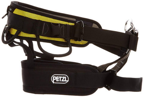 Petzl Pro Falcon Work Positioning Harness - Yellow - Size 1